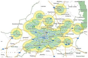 Coverage - maps- gauteng